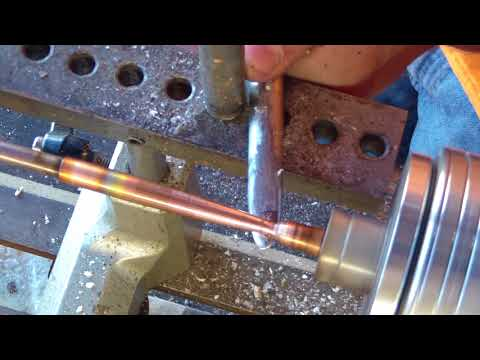 Copper Spinning an Ejector - Part 6