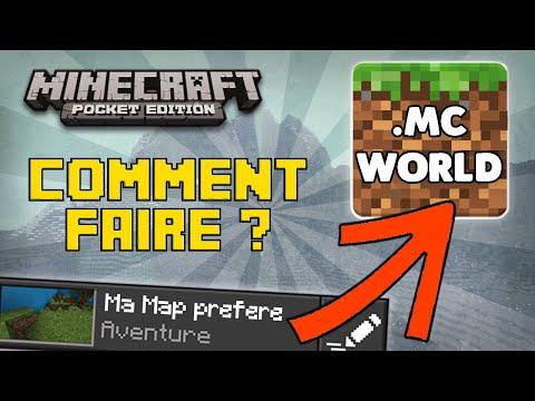 Minecraft PE/W10 [Tuto] ~ Convertir ses Maps en .mcworld facilement