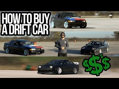HOW TO BUY A DRIFT CAR!