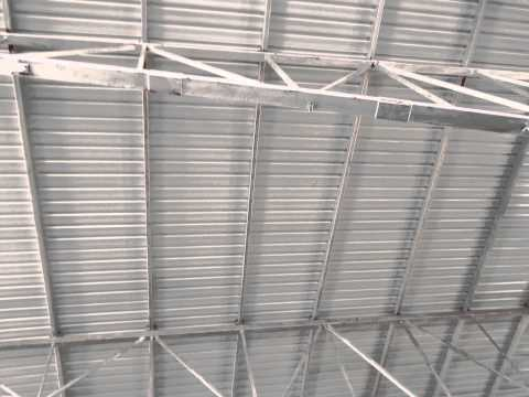 Making Roof By Asbestos......
