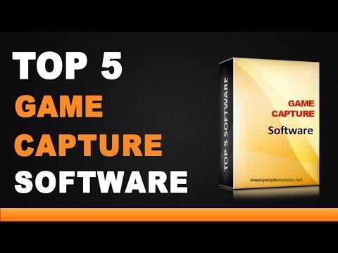 Best Game Capture Software - Top 5 List