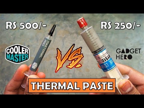 Different Types Of Thermal Paste - Which One You Should Buy ? [HINDI]