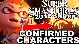 super smash bros 5 characters videos