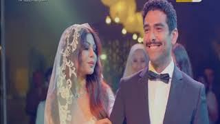 شاهد .. حفل زفاف هيفاء وهبي للمرة الثانية .. وشوف فستانها عامل إزاي!