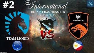 Liquid vs TnC #2 (BO3) The International 2019