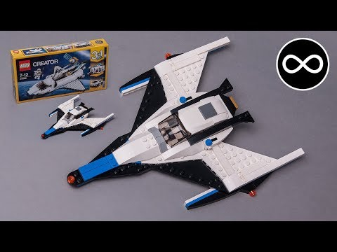 how to make LEGO Spaceship MOC from Creator 31066 set