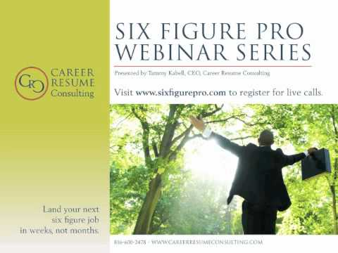 Executive Job Search Tips - 3 Pronged Executive Job Search Approach, Part 5