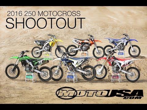 2016 250 Motocross Shootout - MotoUSA