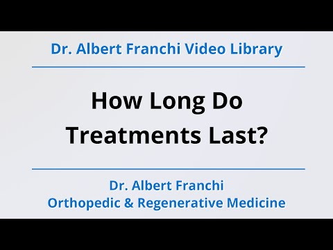 How Long Do Prolotherapy Treatments Last