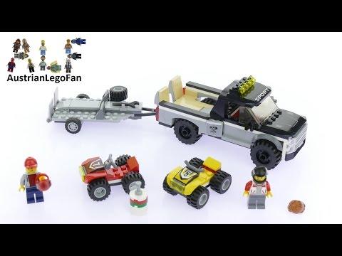 Lego City 60148 ATV Race Team - Lego Speed Build Review