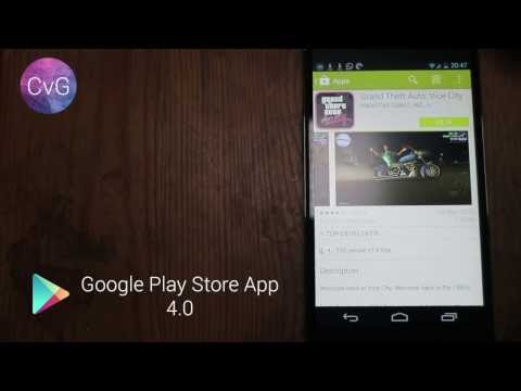 Google Play App 4.0