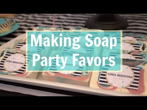 Making Cold Processed Soap Party Favors  | Love Is Sweet Shop