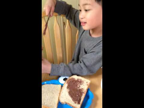 How to make a Nutella Sandwich
