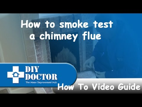 How to do a smoke test on your chimney flue