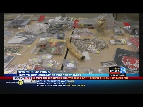 Unclaimed property: Your money in the state's possession