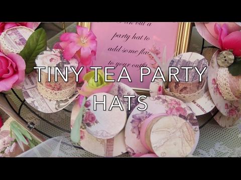 DIY TINY TEA PARTY HATS