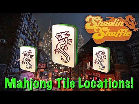 Shaolin Shuffle Mahjong Tiles | All Mahjong Tile Locations