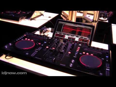 PIONEER DDJ-S1 SERATO ITCH MIDI CONTROLLER AT WINTER NAMM 2011 WITH IDJNOW