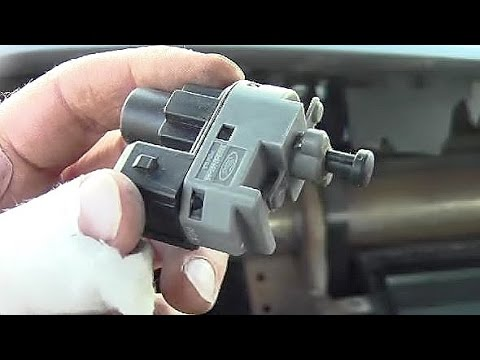 How to Remove Brake Light Switch