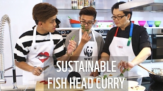 Trevmonki makes sustainable Fish Head Curry! | WWF-Singapore