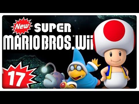 NEW SUPER MARIO BROS. Wii Part 17: Wasser-Level in Lava-Welt?! AAAALLES KLAR