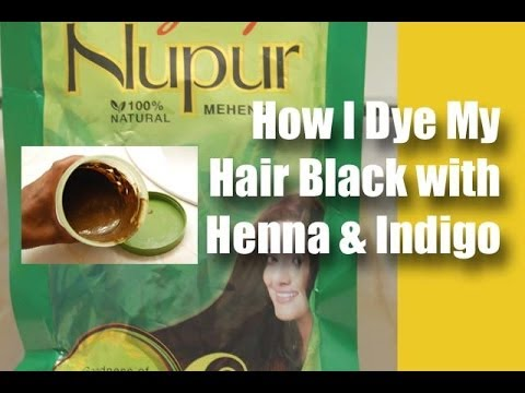 How I Dye My Hair Black with Henna & Indigo