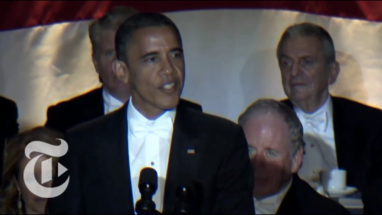 Election 2012 | Obama Jokes at the Al Smith Dinner | The New York Times