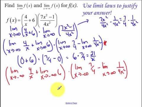 2.2 - Infinite Limits (2017)