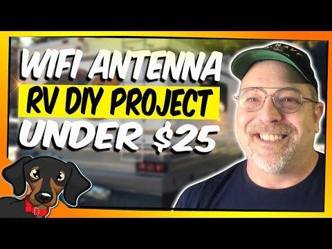 🔴 RV Wi-Fi antenna - DIY build for under $25 #86