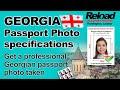 Georgian Passport Photo and Visa Photo