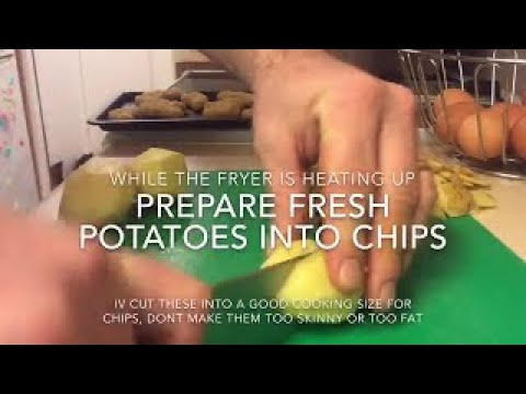 How to Cook Perfect Chips using a Deep Fat Fryer