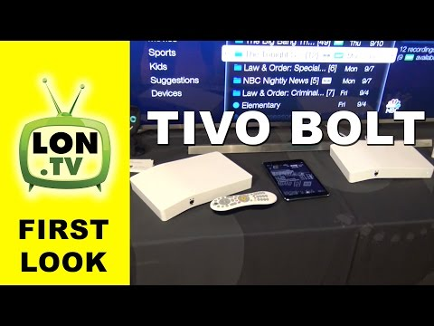 First Look : Tivo Bolt Unified DVR and Internet TV App Box