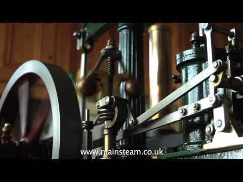 STUART MODELS BEAM ENGINE LIVE STEAM PLANT - IN STEAM