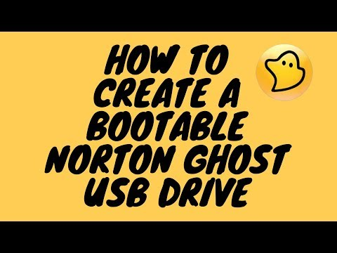 How to Create A Bootable Norton Ghost USB Drive