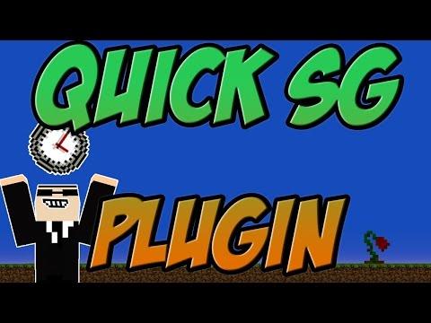 Quick SG Bukkit Plugin Minecraft | 1 8 Spigot | German| | Tutorial |