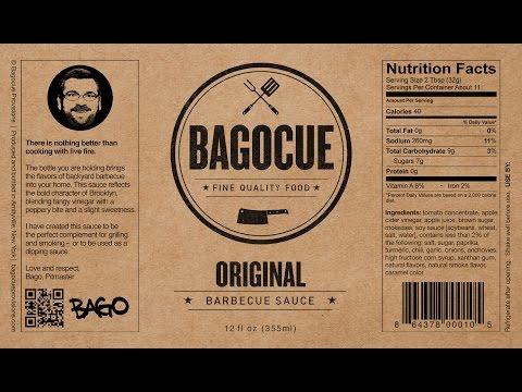 Bagocue BBQ sauce bottling