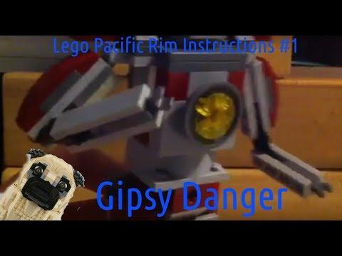 Lego Pacific Rim Instructions #1 Gipsy Danger