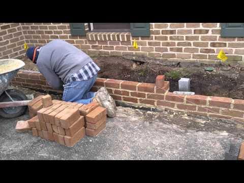 Hanover brick masonry retaining wall contractors PA - Ryan's Landscaping 717-632-4074