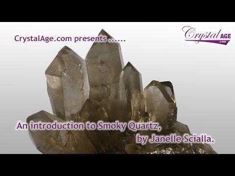 Healing Crystals Guide - Smoky Quartz