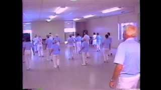 Line Dancing for Seniors (1992) - Sample Clip