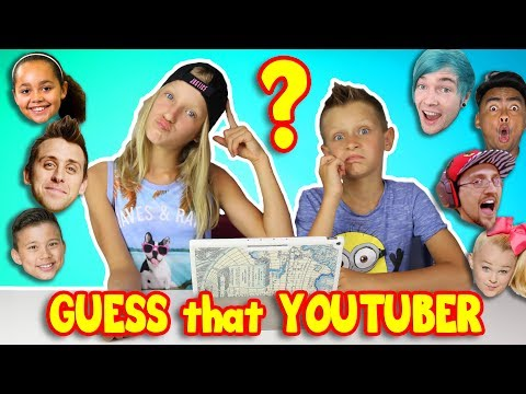 GUESS THAT YOUTUBER by INTRO!!!