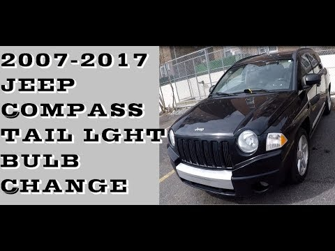 How to replace Tail light bulbs in Jeep Compass