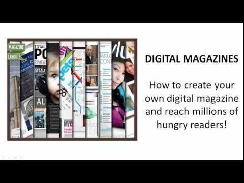 Create Your Own Digital Magazines for ipad and other tablets