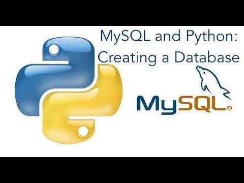 MySQL and Python: Creating a Database