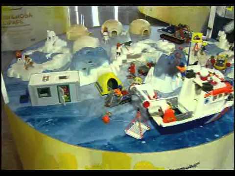 Exposição Playmobil - Repórter Rio (03/02/2012)