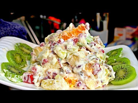 Quick Russian Salad Recipe For Beginners - Salad Recipe - How To Make Russian Salad