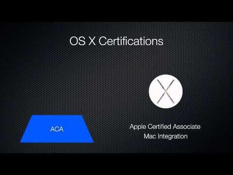 Mac OS X Certifications - Yosemite