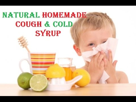 Homemade COUGH and COLD SYRUP for Babies - FAST RELIEF FROM COLD AND COUGH