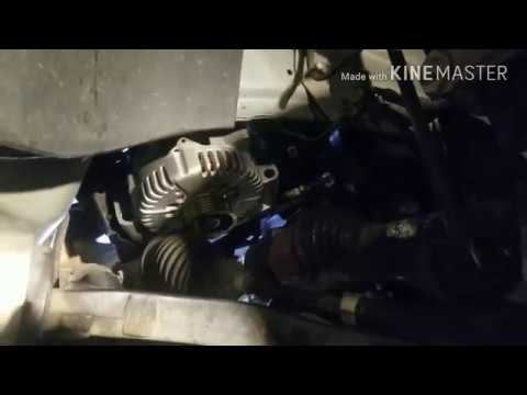 How to Remove An Alternator from a Ford 500, The Fast Easy Way.