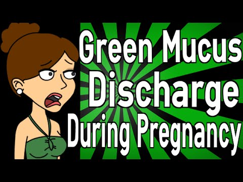 Green Mucus Discharge During Pregnancy